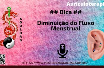 Diminuição do Fluxo Menstrual
